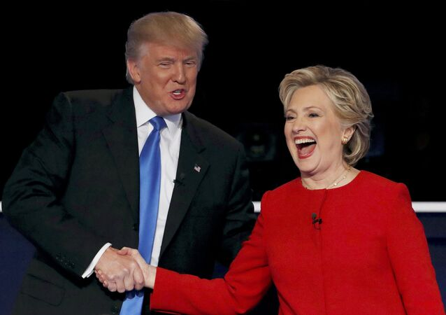 Donald Trump y Hillary Clinton (Archivo)