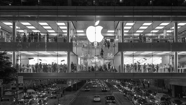 Una tienda de Apple - Sputnik Mundo