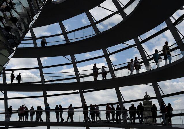 Bundestag, el parlamento de Alemania (archivo)