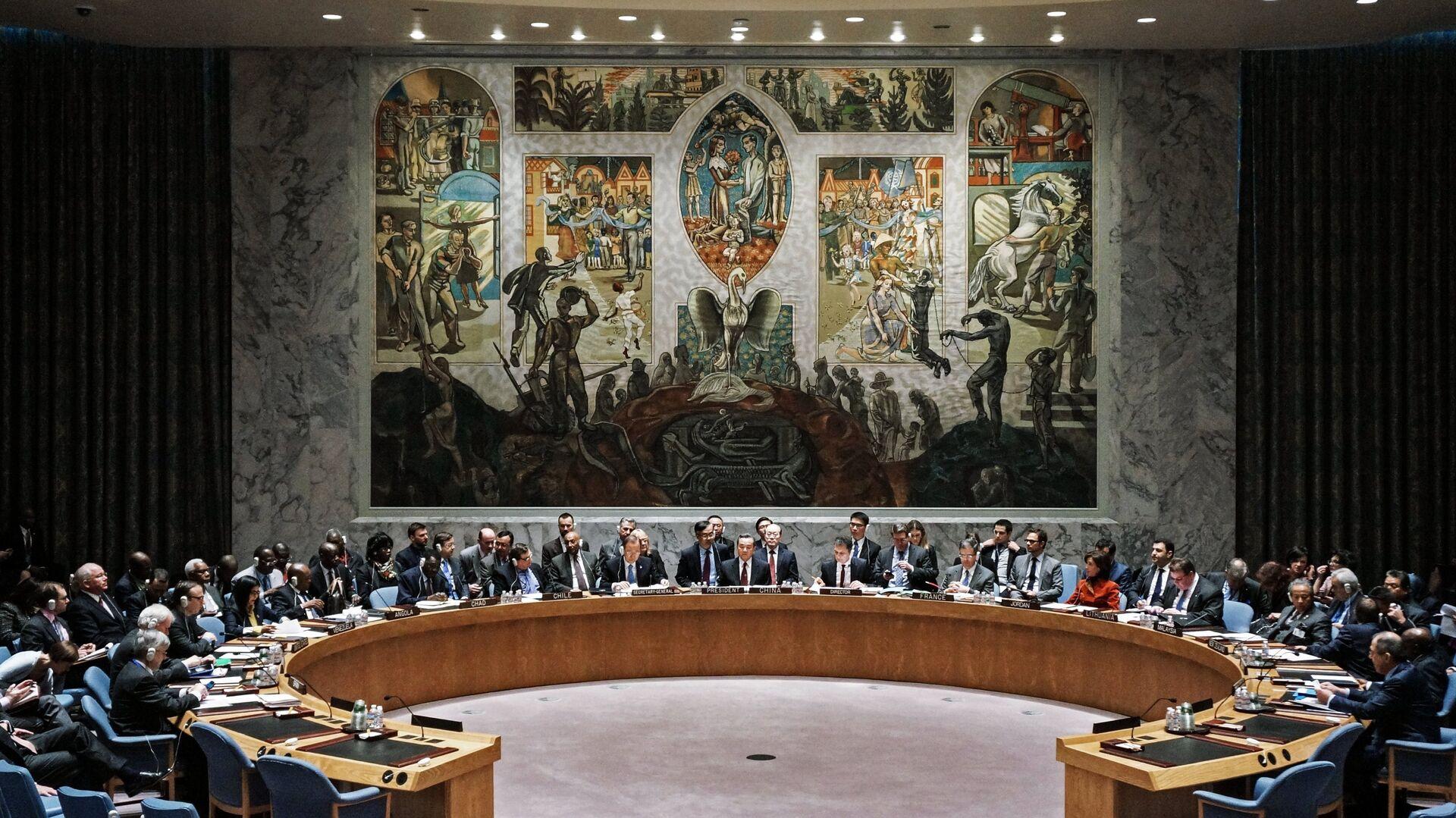 Consejo de Seguridad de la ONU (archivo) - Sputnik Mundo, 1920, 06.05.2021
