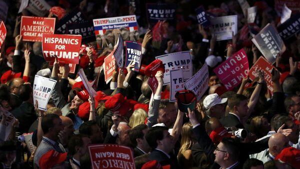 Los seguidores de Donald Trump - Sputnik Mundo