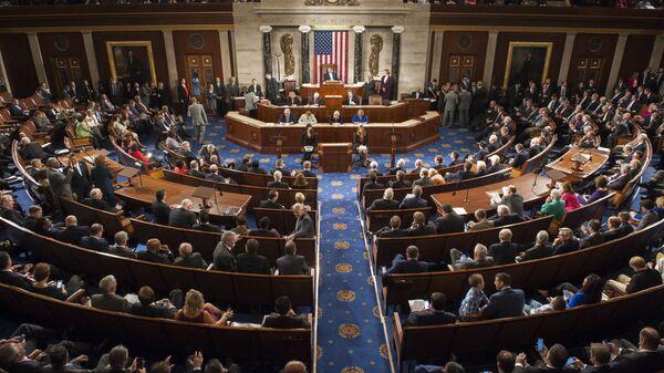 La Cámara de Representantes de EEUU (archivo) - Sputnik Mundo