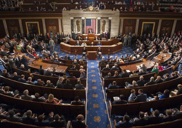La Cámara de Representantes de EEUU (archivo)