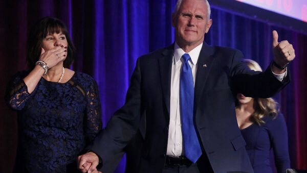 Mike Pence, vicepresidente de EEUU - Sputnik Mundo