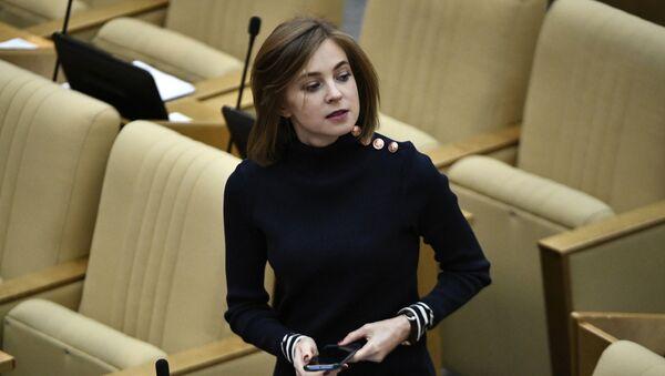 Natalia Poklónskaya, diputada de la Duma Estatal - Sputnik Mundo