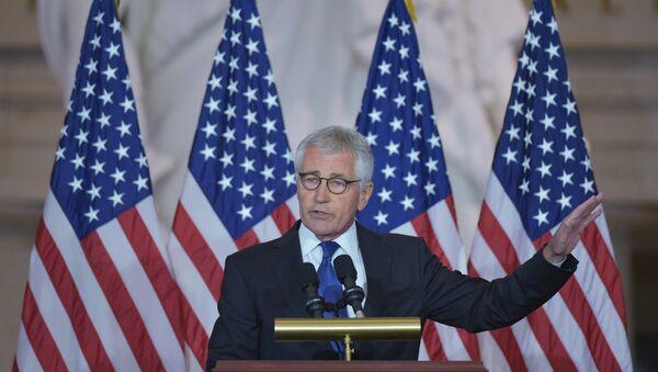 Chuck Hagel, el exsecretario de Defensa de EEUU - Sputnik Mundo