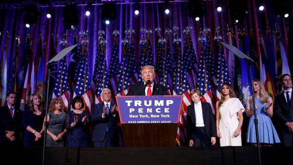 Donald Trump, el ganador de las elecciones presidenciales en EEUU - Sputnik Mundo