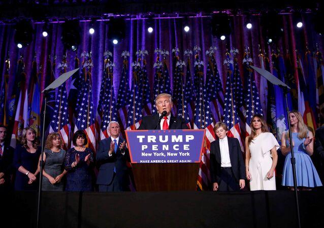 Donald Trump, el ganador de las elecciones presidenciales en EEUU