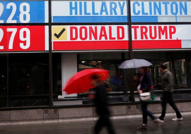 Resultados de las elecciones en EEUU