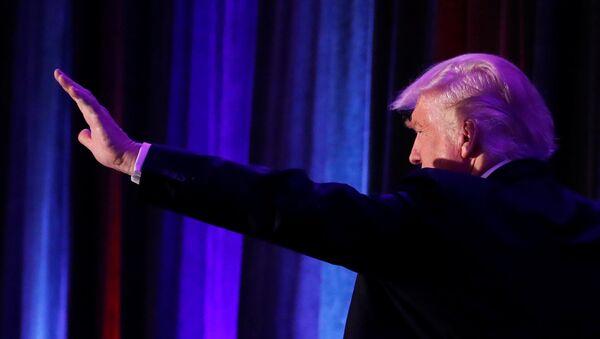 Donald Trump, ganador de las elecciones presidenciales de EEUU - Sputnik Mundo