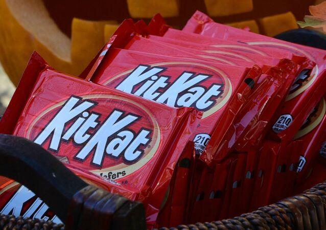 Barras de chocolate Kit Kat