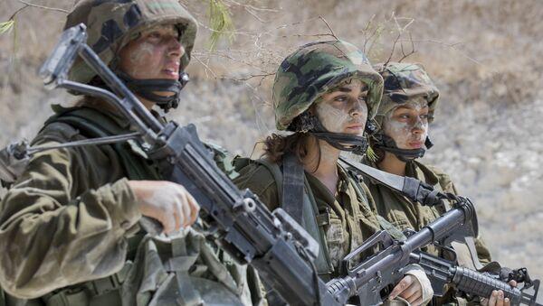 Soldados del Ejército de Israel - Sputnik Mundo