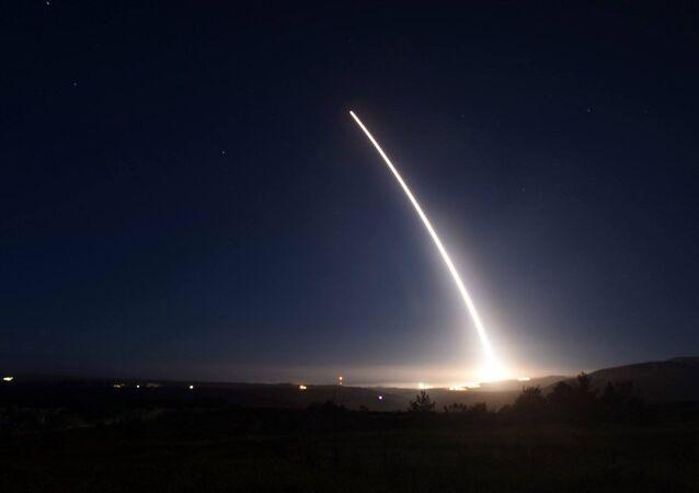 Prueba del misil balístico intercontinental Minuteman III
