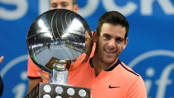 Juan Martín del Potro, el tenista argentino - Sputnik Mundo