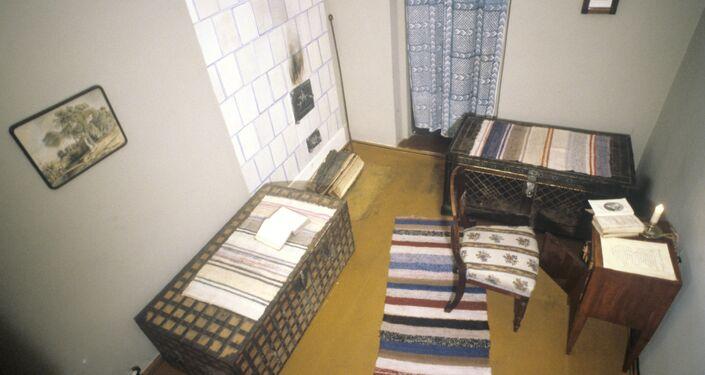 Cuarto infantil en el Museo-apartamento Dostoievski de Moscú