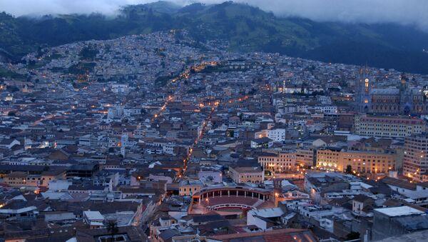 Quito, capital del Ecuador - Sputnik Mundo