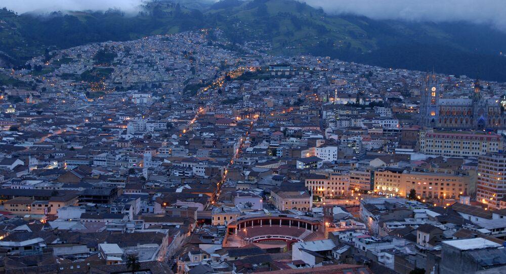 Quito, capital del Ecuador