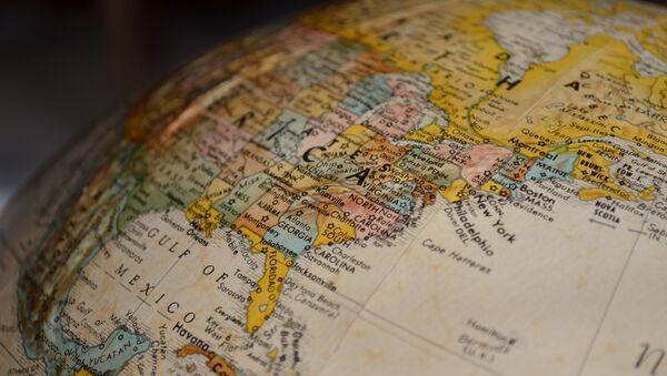 Mapa de EEUU - Sputnik Mundo
