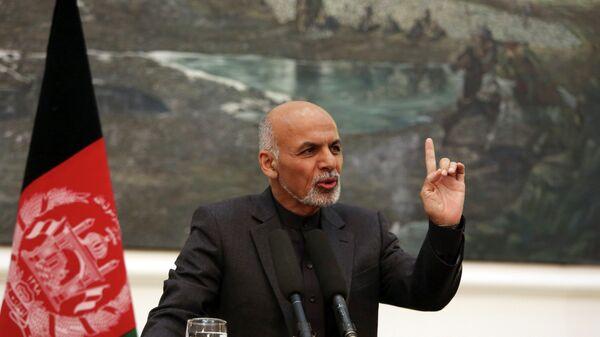 Ashraf Ghani, el presidente de Afganistán - Sputnik Mundo