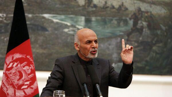 Afghan President Ashraf Ghani - Sputnik Mundo