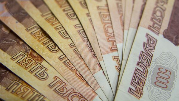 Rublos, moneda nacional rusa - Sputnik Mundo