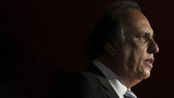 Luiz Fernando Pezao, exgobernador del estado de Río de Janeiro (archivo) - Sputnik Mundo