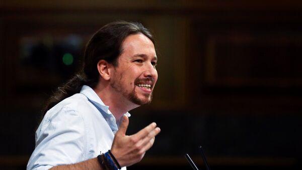 Pablo Iglesias, líder del partido Podemos (archivo) - Sputnik Mundo