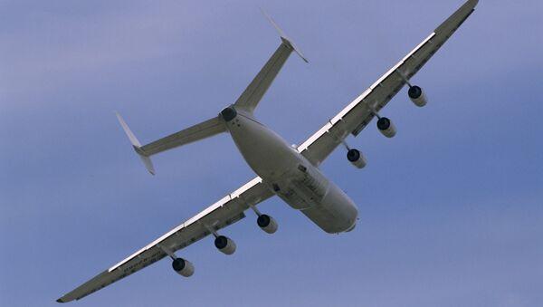 Antónov An-225, el avión más grande del mundo (archivo) - Sputnik Mundo