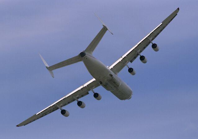 Antónov An-225, el avión más grande del mundo (archivo)