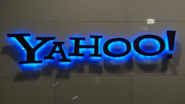 El logo de Yahoo - Sputnik Mundo