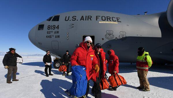 John Kerry en Antártida - Sputnik Mundo