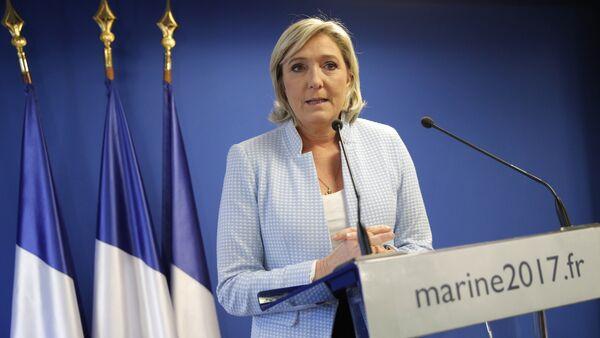 Marine Le Pen, líder del Frente Nacional de Francia - Sputnik Mundo