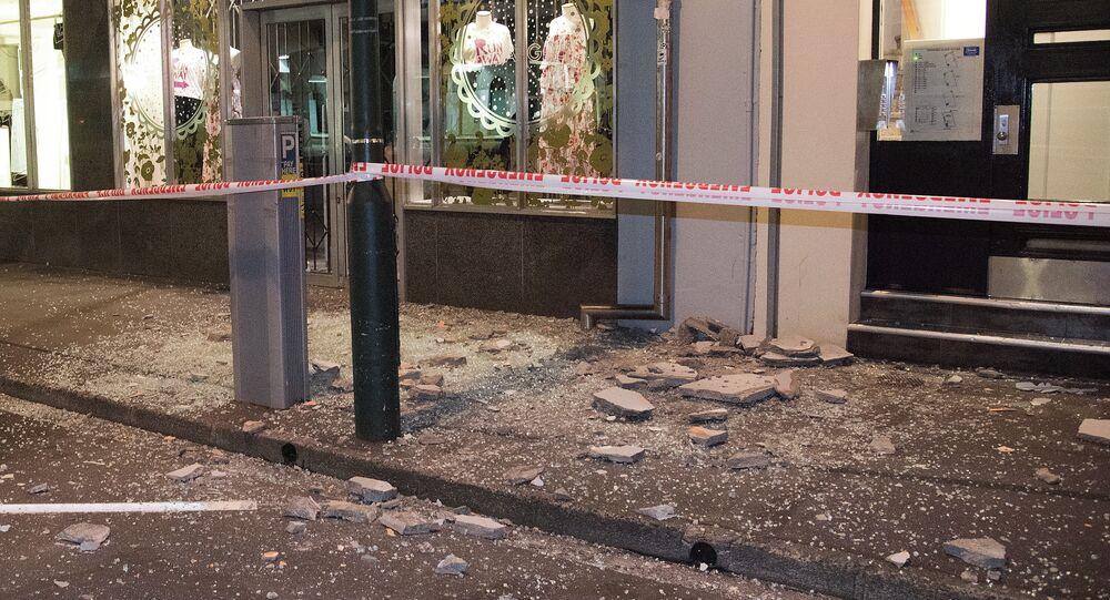 Las destrucciones causadas por el terremoto en Nueva Zelanda