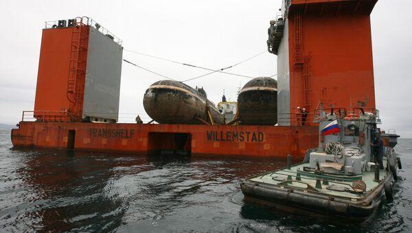 Los submarinos Shuka-B - Sputnik Mundo