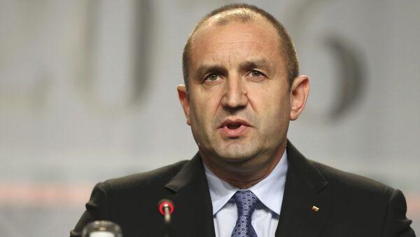 Rumen Radev, presidente de Bulgaria - Sputnik Mundo