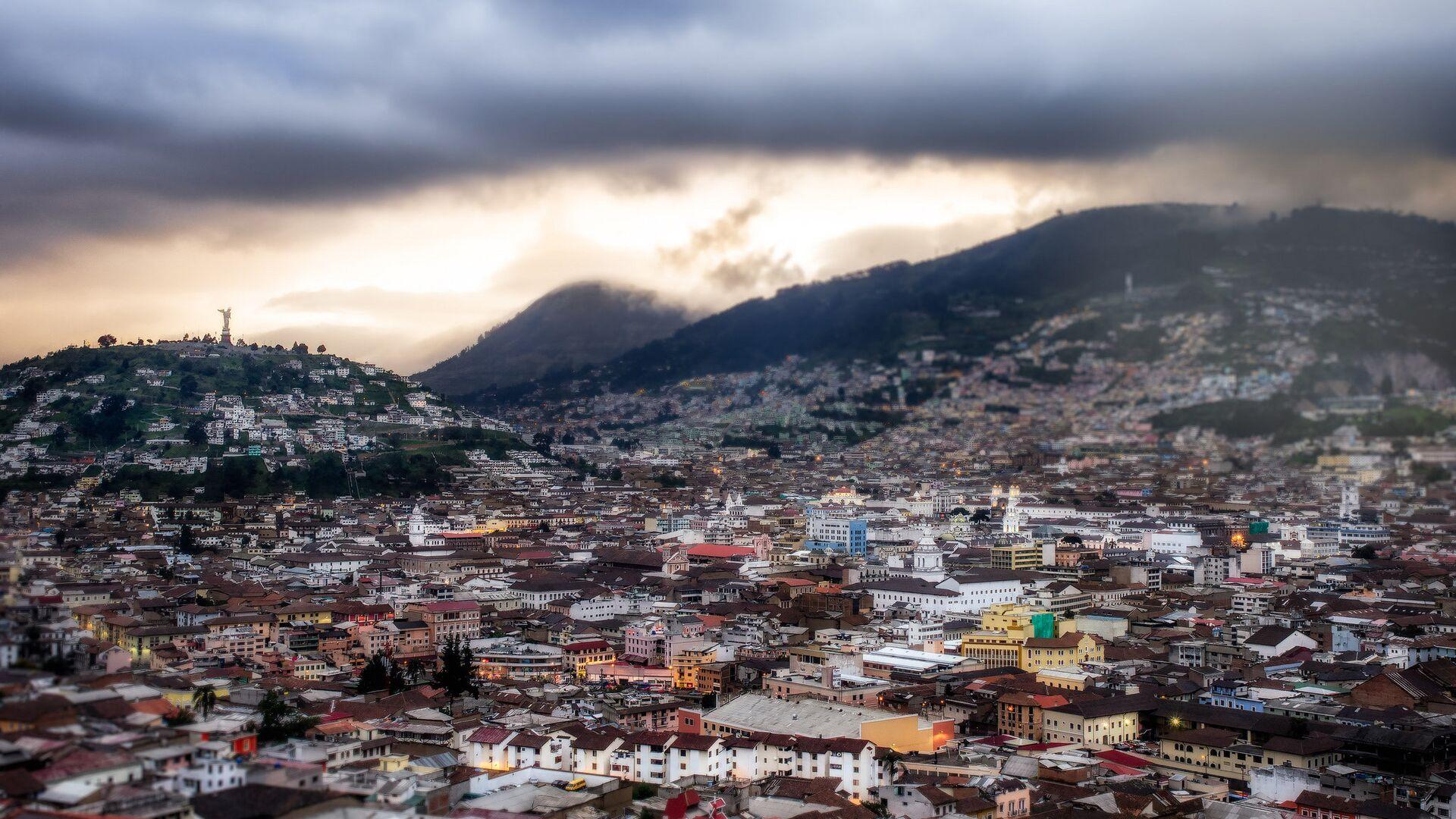 Quito, la capital de Ecuador - Sputnik Mundo, 1920, 17.02.2021