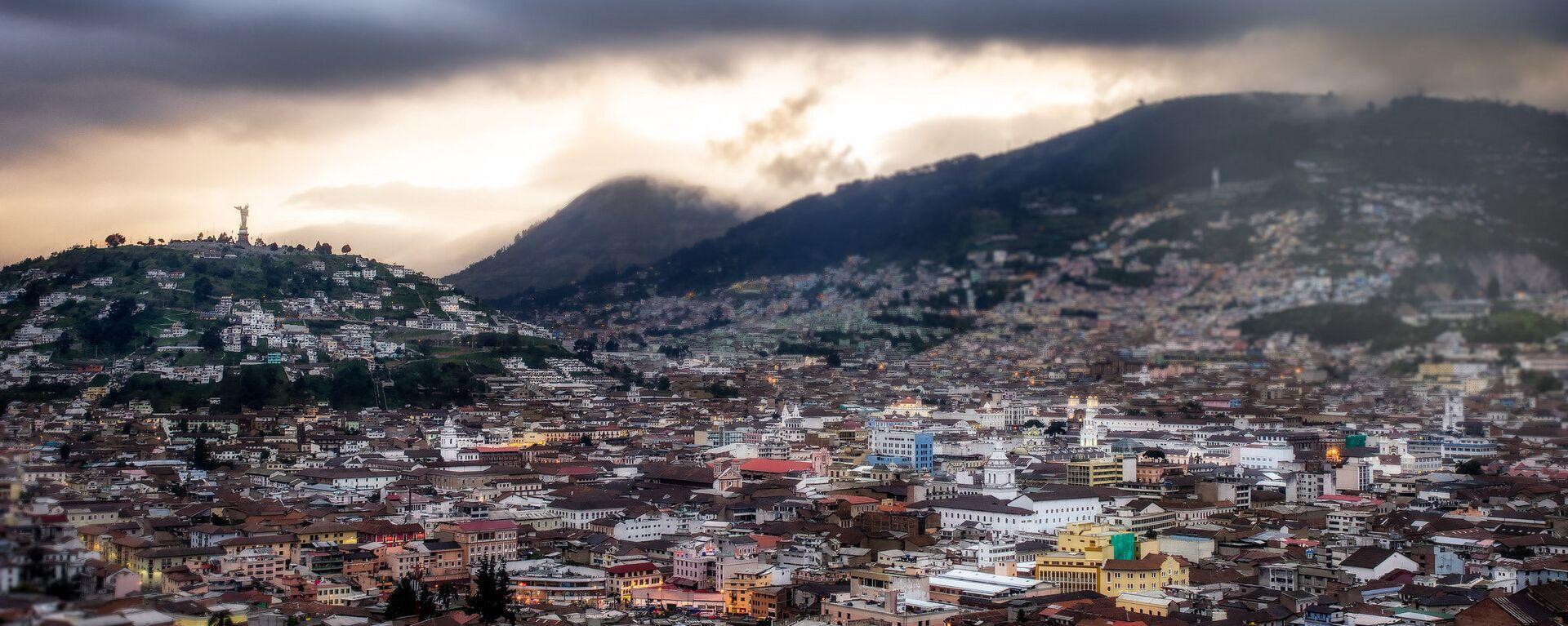 Quito, la capital de Ecuador - Sputnik Mundo, 1920, 16.06.2021