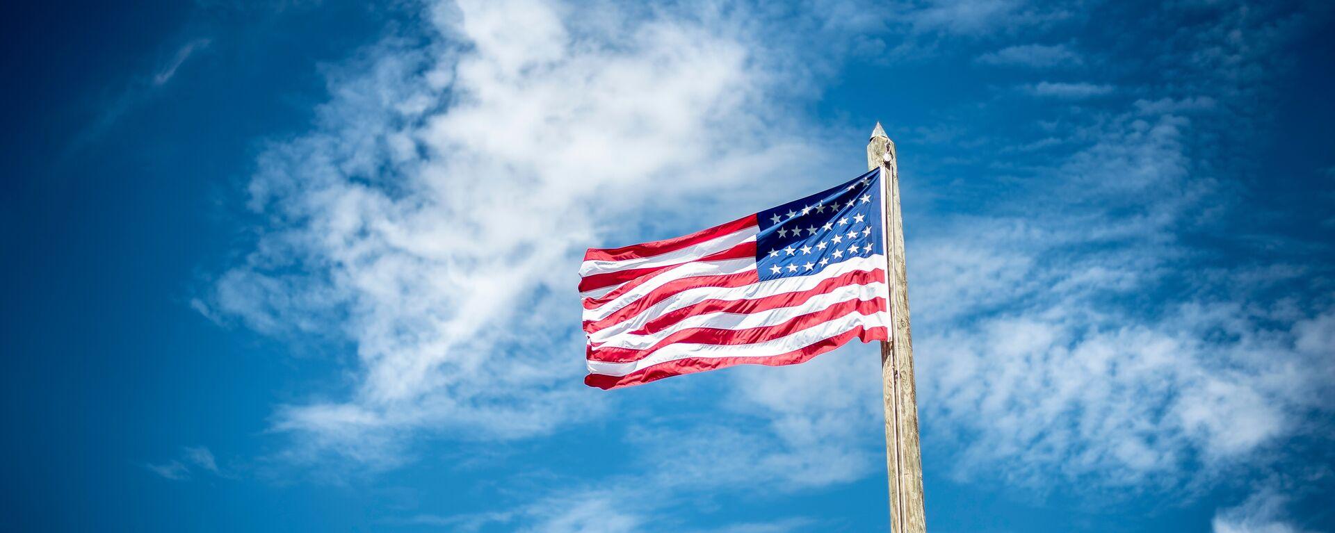 Bandera de EEUU - Sputnik Mundo, 1920, 22.07.2021