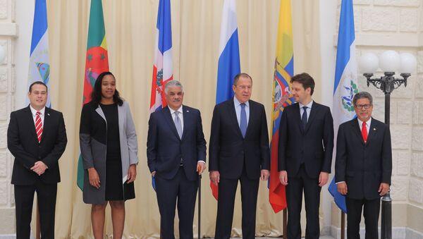 El ministro de Asuntos Exteriores de Rusia, Serguéi Lavrov, se reune con sus homólogos de los países que forman parte de CELAC - Sputnik Mundo