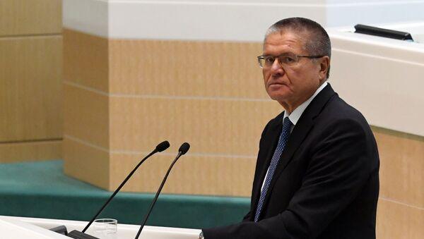 Alexéi Uliukáev, ministro del Desarrollo Económico de Rusia - Sputnik Mundo