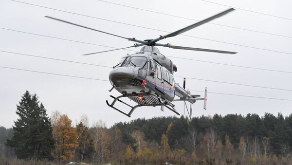 Helicóptero Ansat (imagen referncial) - Sputnik Mundo