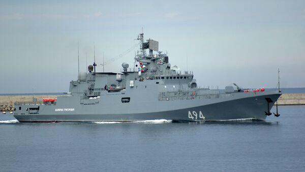 La fragata rusa Almirante Grigoróvich - Sputnik Mundo
