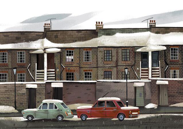 Ilustración de Júlia Sardà: Inglaterra