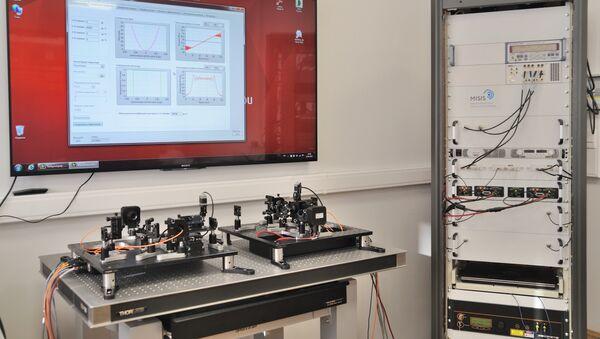 Sistema de control óptico-acústico de impulsos láser (MISIS) - Sputnik Mundo