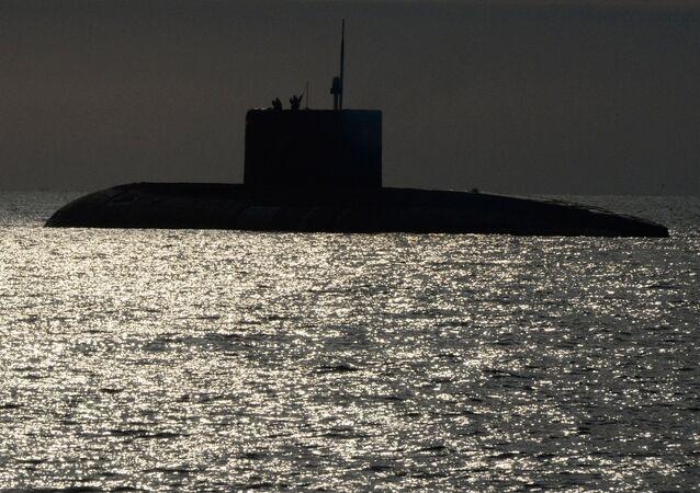 El submarino ruso de la clase Varshavianka
