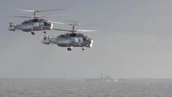 Helicópteros rusos en Siria - Sputnik Mundo