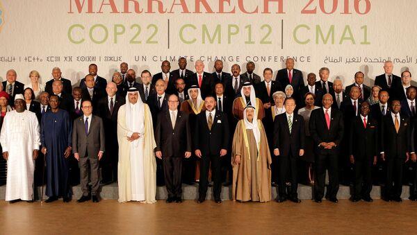 La Primera Reunión de las Partes del Acuerdo de París en la ciudad marroquí de Marrakech - Sputnik Mundo