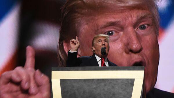 Donald Trump, presidente electo de EEUU - Sputnik Mundo
