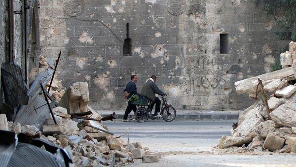 La situación en Alepo - Sputnik Mundo