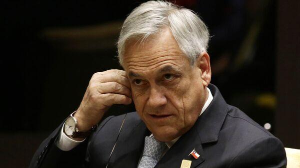 Sebastián Piñera, exmandatario chileno - Sputnik Mundo